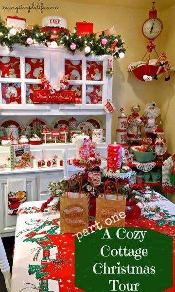 cottage christmas decorating ideas  pinterest