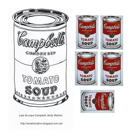 Cbell Tomato Soup Andy Warhol by 17 Best Images About Andy Warhol En La Escuela On
