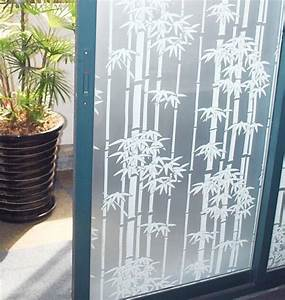 popular decorative window film bamboo buy cheap decorative With fenetre pvc opaque