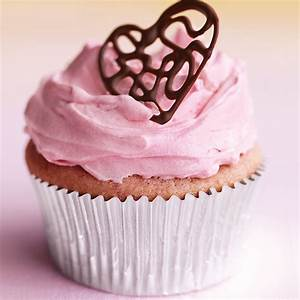 Raspberry Cupcakes With Pink Buttercream And Lacy