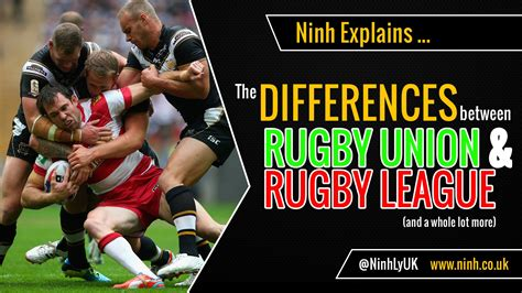 Rugby Union Vs League The Difference Between Rugby Union Rugby League