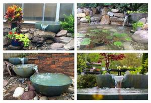 3, Ideas, For, Small, Backyard, Water, Features