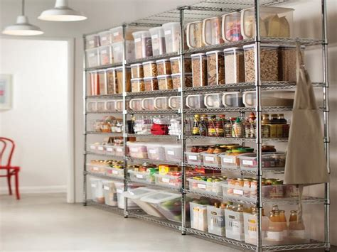 Kitchen Pantry Storage Design