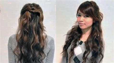 easy hairstyles for long frizzy hair hairstyle for women