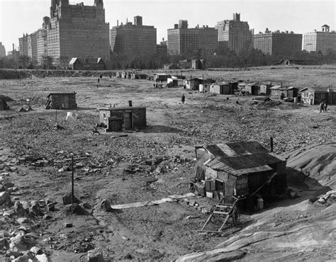 The History Of Central Park's Hooverville, The Great