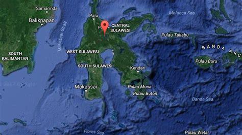indonesia earthquake  magnitude  hits sulawesi island