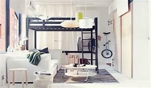 Chambre Fille Petit Espace : quels meubles pour une chambre de petite surface ~ Premium-room.com Idées de Décoration
