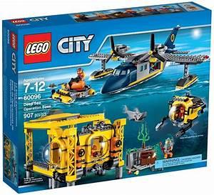 Avenue De La Brique : lego city 60096 la base op rationnelle en haute mer ~ Melissatoandfro.com Idées de Décoration