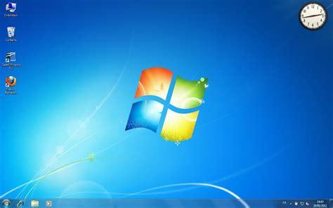 icone pour bureau afficher un gadget horloge sur le bureau de windows 7