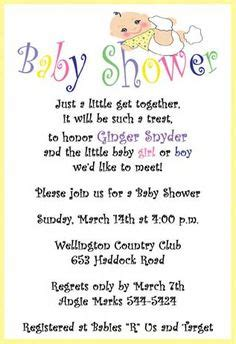 Baby Shower Wording Ideas For A Boy - getting the baby shower invitation wording right