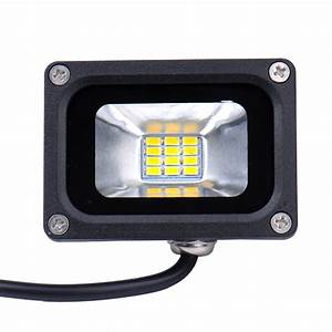 Flood lights for lawn : Led flood lights outdoor w security