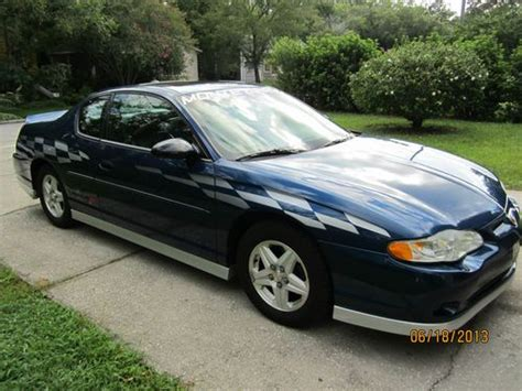 Find Used 2003 Chevrolet Monte Carlo Ss Pace Car Chevy V6