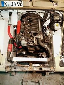 Fitting Bmw 530d M57 Engine Into Defender 110  Ex 200tdi