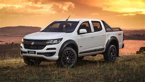 holden colorado lsx pricing  spec confirmed car