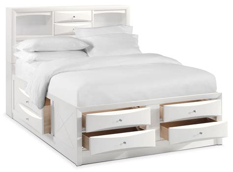 King Bookcase Storage Bed by Braden King Bookcase Bed With Storage White Value City