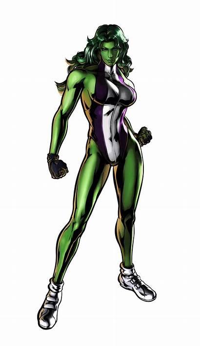 Hulk She Marvel Capcom Clipart Shehulk Aw