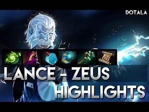 LANCE Zeus Gameplay Dota 2 YouTube
