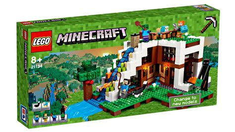 New Set 3 Art Wall Sticker 3d Decals Removable Mural Home: LEGO Minecraft 2017 Sets Pictures!