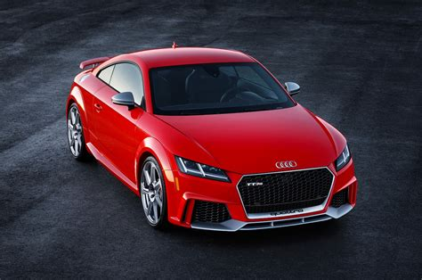 Usspec 2018 Audi Tt Rs To Debut In New York, Cost