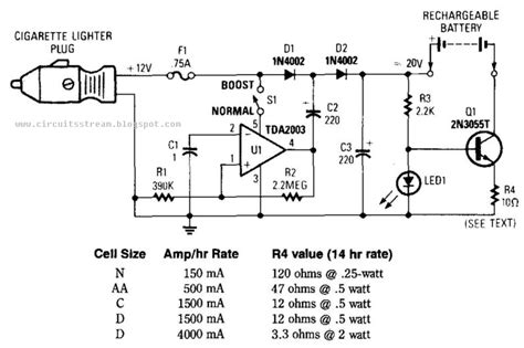 electronicvdc mobile battery charger circuit diagram