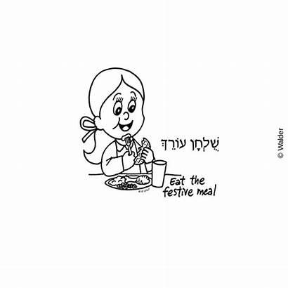 Seder Order Orech Shulchan Children Pesach