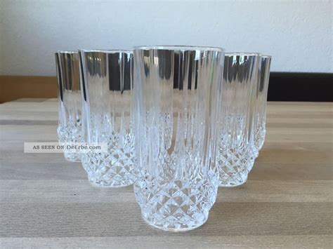 Wasserglaser Kristall by 6 Wassergl 228 Ser Bleikristall Cristal D Arques Longch
