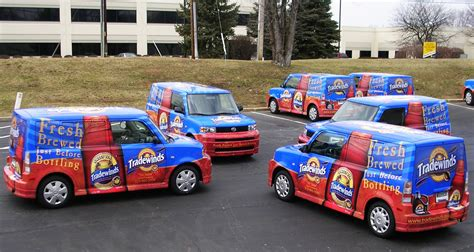 Fleet Wraps, Fleet Advertising Services, Creative Fleet Wraps