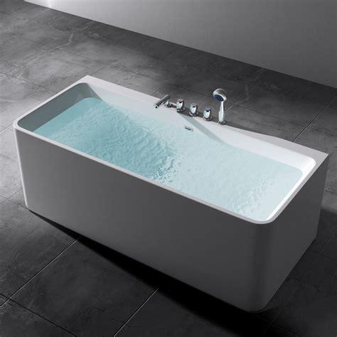 In Der Badewanne badewanne rechteck acryl wanne standbadewanne armatur