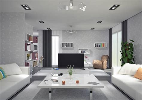 salon sejour cuisine villa contemporaine 125m2 etage modèle magnolia salon