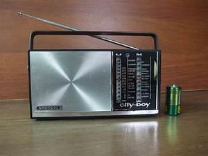 Working Grundig Portable Transistor Radio City Boy 208