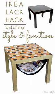 Lack Tisch Hack : diy with style glam ikea lack hack with a magazine sling decor hacks ikea ikea lack diy ~ Yasmunasinghe.com Haus und Dekorationen