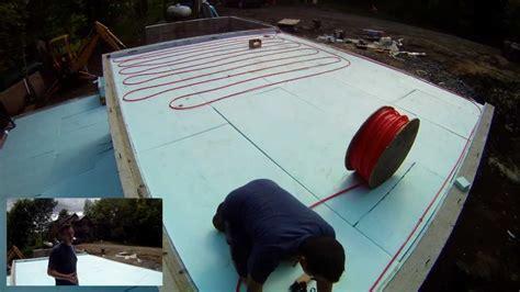 Radiant Heat Pex Tubing Installation   15   My Garage