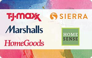 You can use your tj maxx gift card at any of these department stores and online at www.tjmaxx.com. Buy T.J.Maxx Gift Cards with Credit Cards