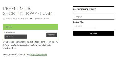 Premium Url Shortener Wordpress Plugin By Kbrmedia