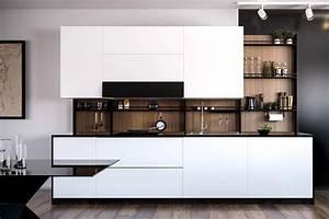 Modern, Kitchen, Backsplash, In, Nyc