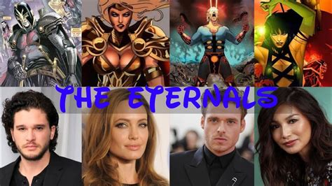 #Eternals movie cast - YouTube