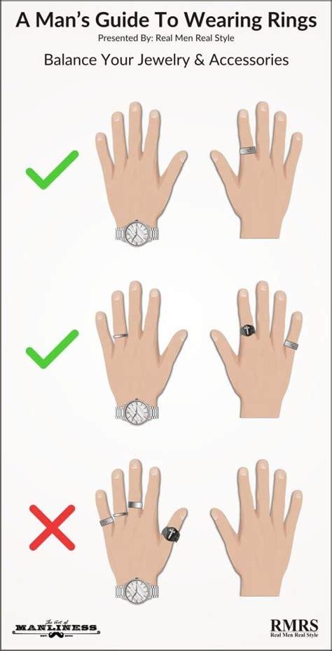 mans guide  wearing rings   making