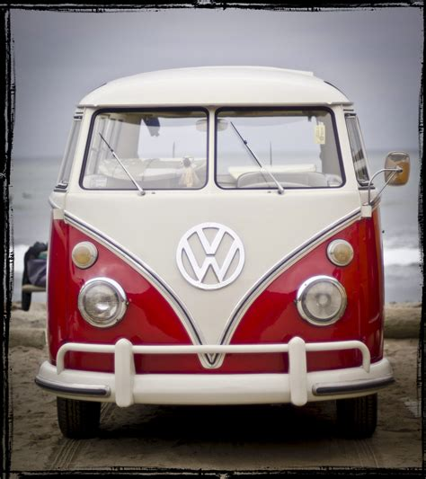 San Diego Beach Surf A Vw Bus Timm Eubanks