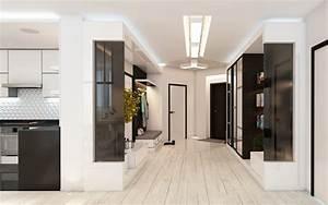 Deco Couloir Blanc : d co blanc quatre exemples d 39 int rieurs moderne en blanc ~ Zukunftsfamilie.com Idées de Décoration