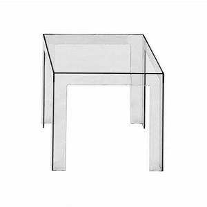 Table De Chevet Transparente : table de chevet transparente ~ Melissatoandfro.com Idées de Décoration