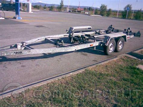 carrello porta auto usato vendesi vendo carrello barca ellebi lbn 2022 da 25 ql