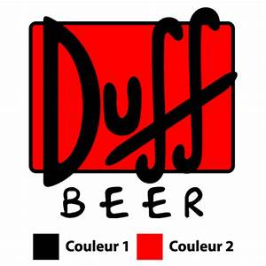 Duff Beer Logo Decal 2 Colors