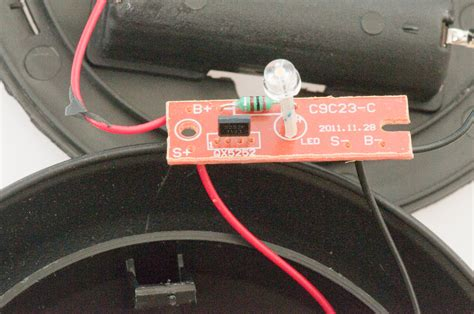 joule thief single cell led driver
