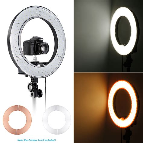 dimmable led ring light neewer 14 quot led ring light kit dimmable ring light 79