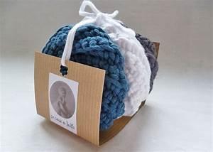 Entretien De La Maison : 3 ponges durables et co responsables en coton lot bleu tawashi entretien de la maison ~ Nature-et-papiers.com Idées de Décoration