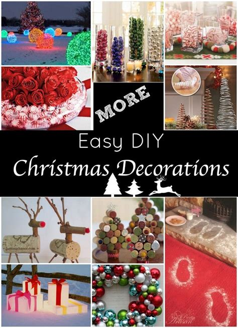 easy holiday decorations great christmas