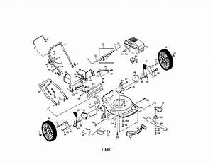 Poulan Rotary Lawn Mower Parts