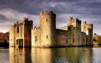 Castle Bodiam England Castles Desktop Wallpapers Abandoned
