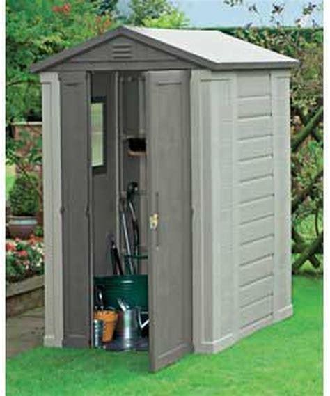plastic outdoor sheds of plastic garden shed garages sheds in
