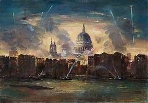St Paul's Cathedral during the Blitz | Art UK